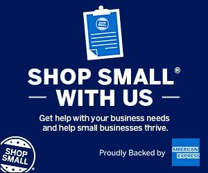 American Express Shop Small logo